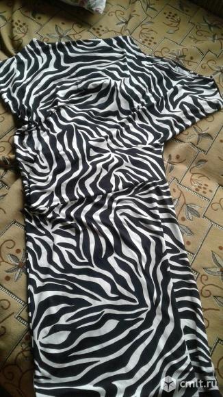 Продается платье-зебра на одно плечо