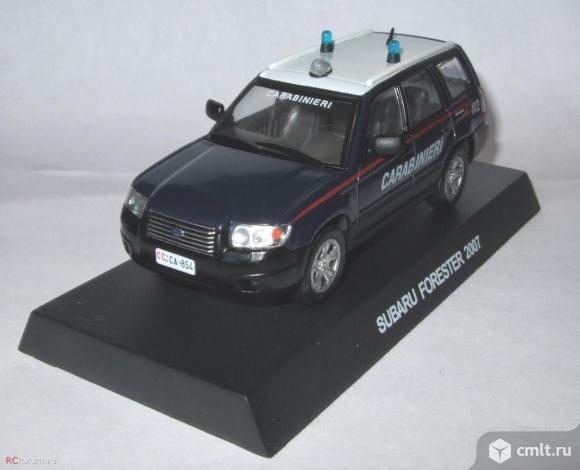 Полицейские машины мира спец. выпуск 3 SUBARU FORESTER 2007. Фото 1.