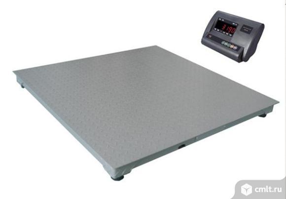 Весы 2000 кг. 1,2*1,2. Фото 1.