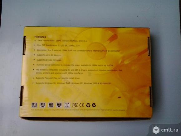 Контроллер 1394 для подключения видеокамеры Win XP