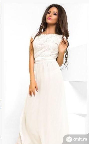 Платье макси новое 42-44 р-р. Фото 1.