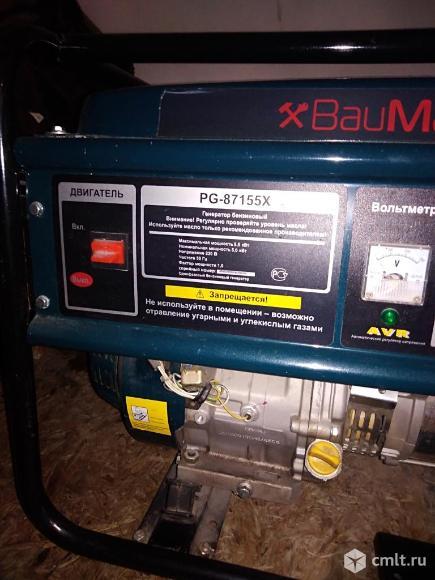 Бензиновый генератор. Фото 5.