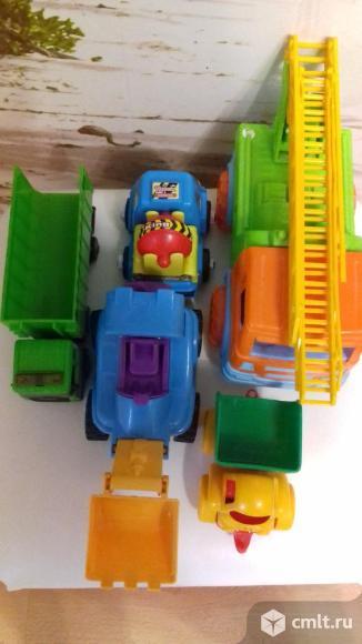Пакет машинок. Фото 1.