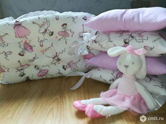 Новые наборы бортиков-подушек для малышей