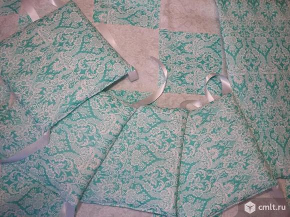 Новые наборы в кроватку с бортиками-подушками