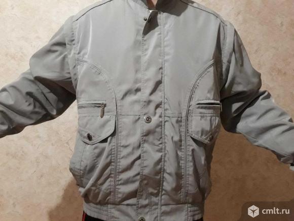 Мужская куртка с отстегивающимися рукавами.. Фото 1.