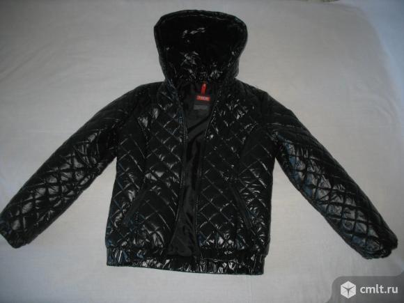 Куртка черная молодежная фирма Твоё