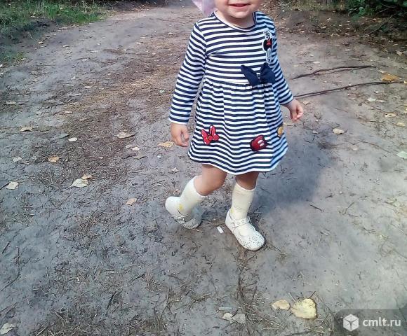 Турецкое платье на девочку. Фото 1.