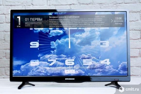Телевизор Erisson 24LEA20T2 Smart TV,WI-FI. Фото 1.