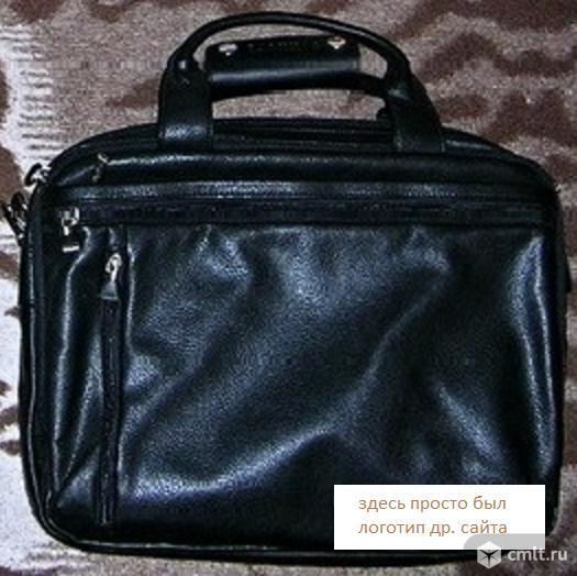 Шикарный портфель-кейс-сумка