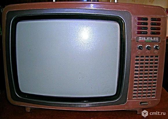 Телевизор кинескопный цв. Шилялис. Фото 2.