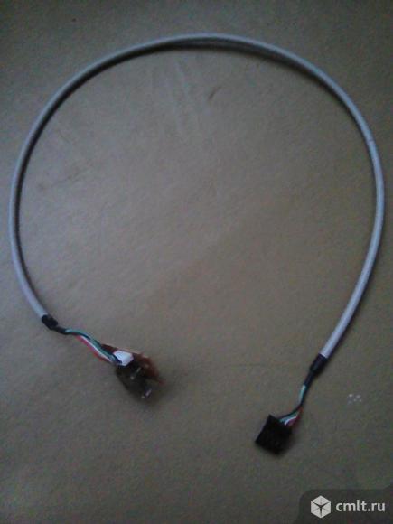 USB входа микрофон  наушники для компа можно одной платой. Фото 1.