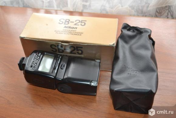 Фотовспышка Nikon SB-25. Фото 5.