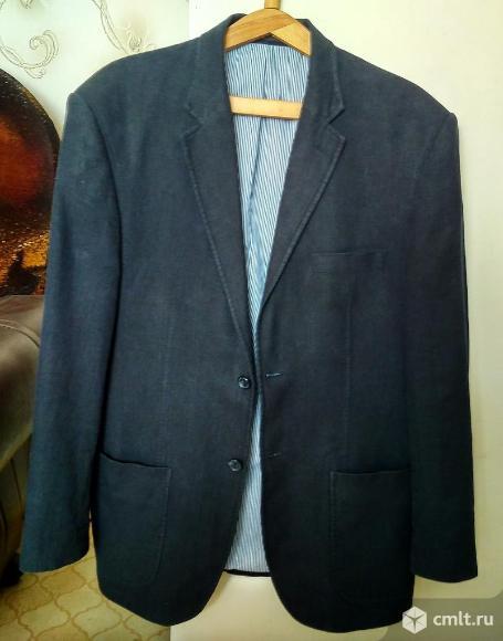 Льняной пиджак M&S Man. Фото 1.