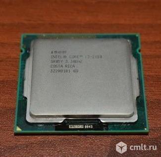 Процессор Intel Core i3 2120. Фото 1.