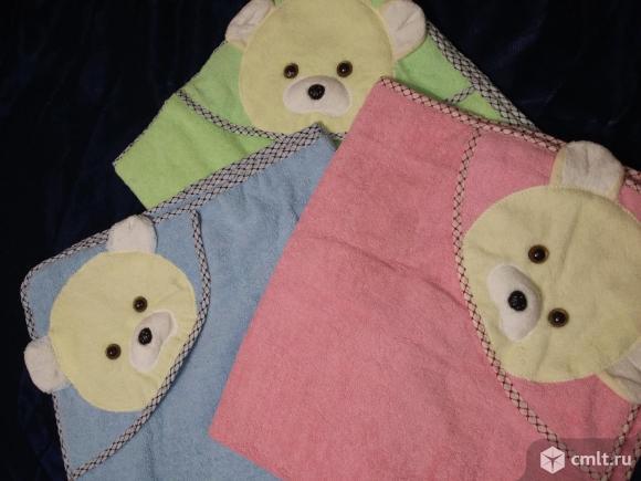 Новые махровые полотенчики с уголком