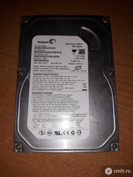 Жесткий диск Seagate / SATA / 160Gb. Фото 2.