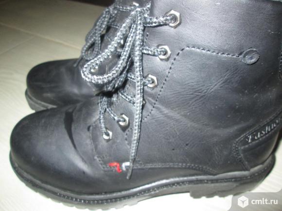 Осенние ботинки. Фото 6.