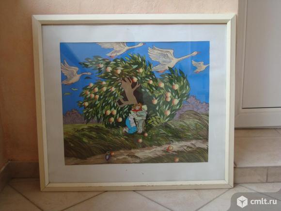 "Картина  ""Гуси лебеди"""