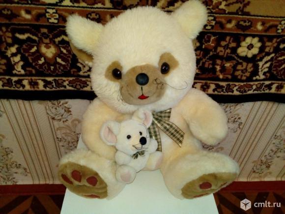 Игрушка мягкая Медведь с игрушкой