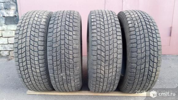 Продаю б/у 4 зимние шины «липучка» Йокогама Геоландер  I/T размер  225 /65/17. Фото 1.