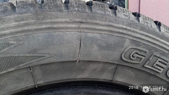 Продаю б/у 4 зимние шины «липучка» Йокогама Геоландер  I/T размер  225 /65/17. Фото 6.