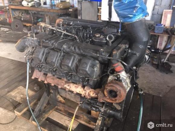 Продаю двигатель камаз евро2 б/У. Фото 2.