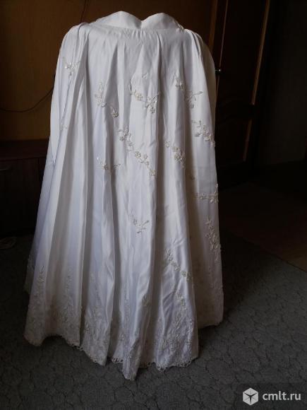 Платье свадебное белое, р. 44-46/180, корсет отдельно от