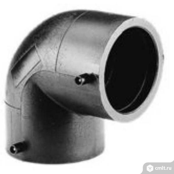 Отвод электросварной 90° DN 63 SDR 11. Фото 1.
