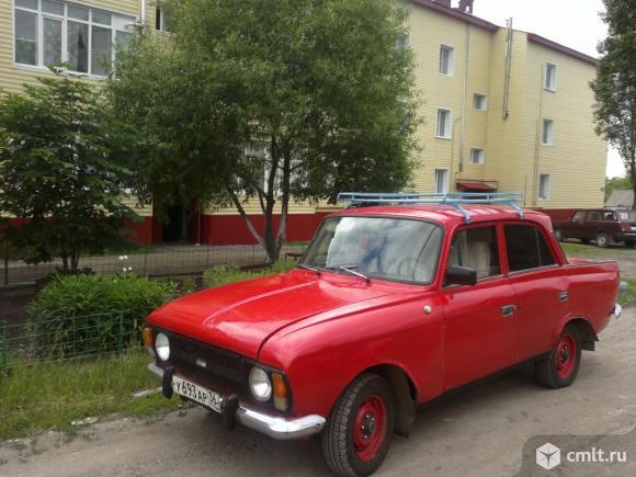 М-412 1985 г. в., 1.5, 85 тыс. км, красный, фаркоп. Фото 1.