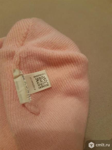 Шапка adidas ( с шарфом ). Фото 5.