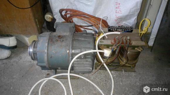 Двигатель щеточный пост.тока, 75в, 1.4 квт, 34 кг в комплекте. Фото 1.