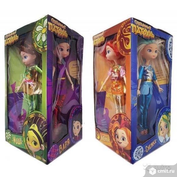 Набор из 4 кукол Сказочный патруль новые