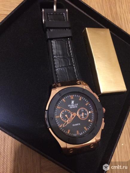 Мужские часы Hublot новые бесплатная доставка. Фото 2.