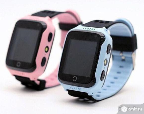 Детские умные GPS часы q528 с камерой. Фото 1.