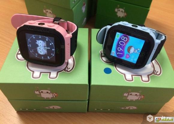 Детские умные GPS часы q528 с камерой. Фото 2.