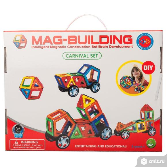 Магнитный конструктор Mag-Building 48 деталей. Фото 3.