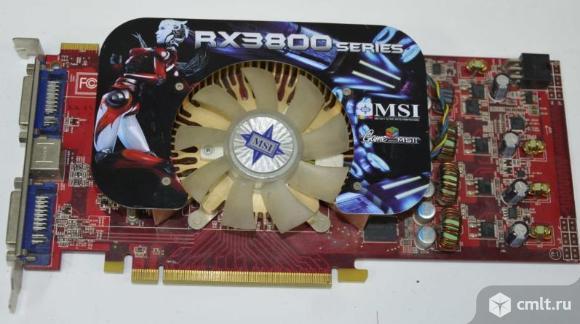 MSI RX3800 на запчасти. Фото 1.
