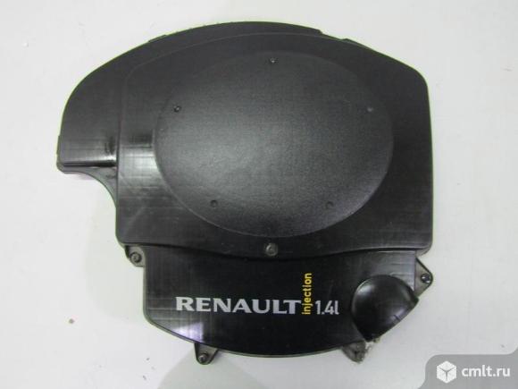 Крышка корпуса  воздушного фильтра RENAULT LOGAN 1,4L 05- б/у 8201076708 4*. Фото 1.