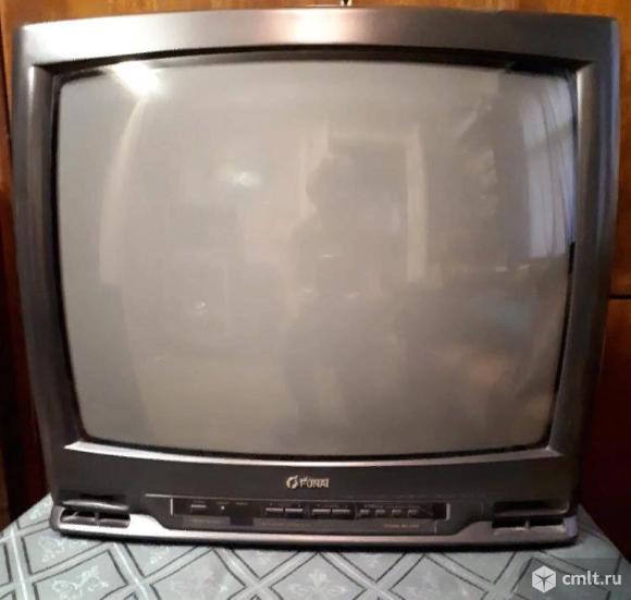 Телевизор кинескопный цв. Funai