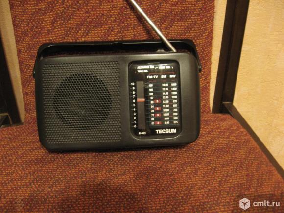 Радиоприемник Tecsun R303. Фото 1.