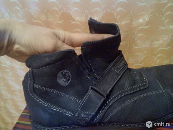 Продам мужские, кожаные зимние ботинки. Фото 5.