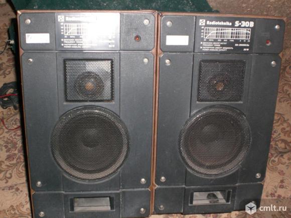 Колонки Радиотехника. Фото 1.