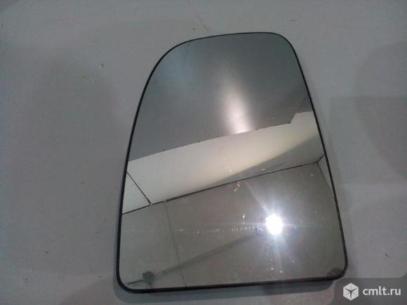 Зеркальный элемент левый C  подогревом CITROEN JUMPER 06- FIAT DUCATO 06- PEUGEOT BOXER 06- б/у 8151. Фото 1.