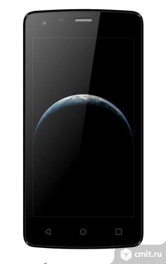 """Как новый, гарантия 4.5"""" Смартфон DEXP B145 8 ГБ 4G, LTE черный. Фото 1."""