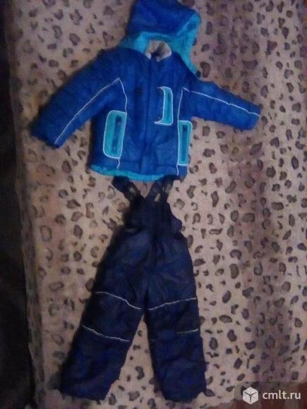Куртка и штаны зимние на мальчика.