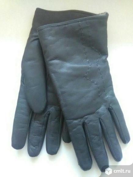 Перчатки кожаные (новые)