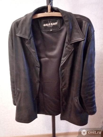 Продается кожаная куртка. Фото 1.