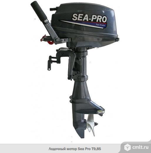 Лодочный мотор SeaPro t9,8s (обновленный)