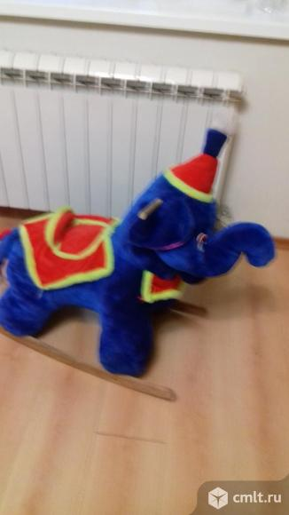 Слоник качалка. Фото 1.